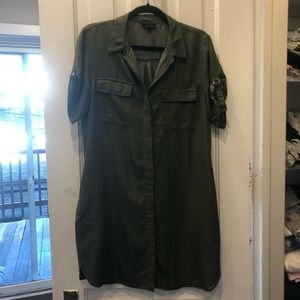 Topshop military dress